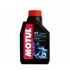 Óleo De Moto Motul 3000 20w50 4t Api SL Mineral 1lt