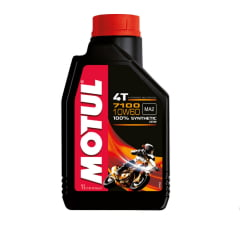Oleo De Moto Motul 7100 10w60 4t Api SL Sintético 1L