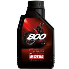 Oleo De Moto Motul 800 Factory Line Off Road 2T Sintético 1lt