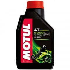 Oleo De Moto 10w40 Motul 5000 Hc-Tech Semissintético 4T 1Lt