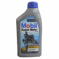 Oleo De Moto 15w50 Mobil Super Extreme 4t Semissintético 1lt