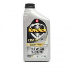 Óleo De Motor 5w30 Havoline ProDs Api Sn Sintético Dexos 2 1Lt