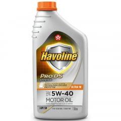 Oleo De Motor 5w40 Havoline Pro Ds Ultra W 508 88 1lt