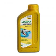 Óleo Lubrax 2 Tempos Naútica Semi Sintetico 500ml