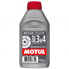 Fluido de Freio Motul Dot 3 & 4 Brake Fluid 500Ml