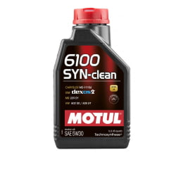 Oleo De Motor 5w30 Motul 6100 SYN-clean C3 Api Sn 1L