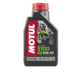 Oleo Motul 5100 10w40 Semi Sintético Moto 4t Api SL 1Lt
