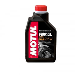 Oleo Suspensão Motul Fork Oil 2.5 Factory Light 1lt