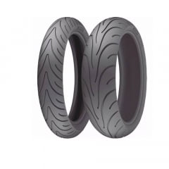 Par Pneu Michelin 120/70-17 + 180/55-17 Pilot Road 2 Moto