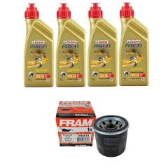 Kit Troca de Oleo Castrol Power 1 15w50 4lt + Filtro de Oleo PH6018