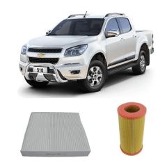 Kit Filtro Ar Condicionado + Filtro Ar Motor S10 Trailblazer em até 6x sem juros