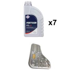 Troca de Oleo Cambio Dupla embreagem Audi A3 A4 Fusca TSI 2.0 FFL2 7 litros WFC-937
