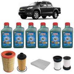 Troca Completa Óleo e Filtros S10 Diesel 2.8 -2014 5w30 SUV