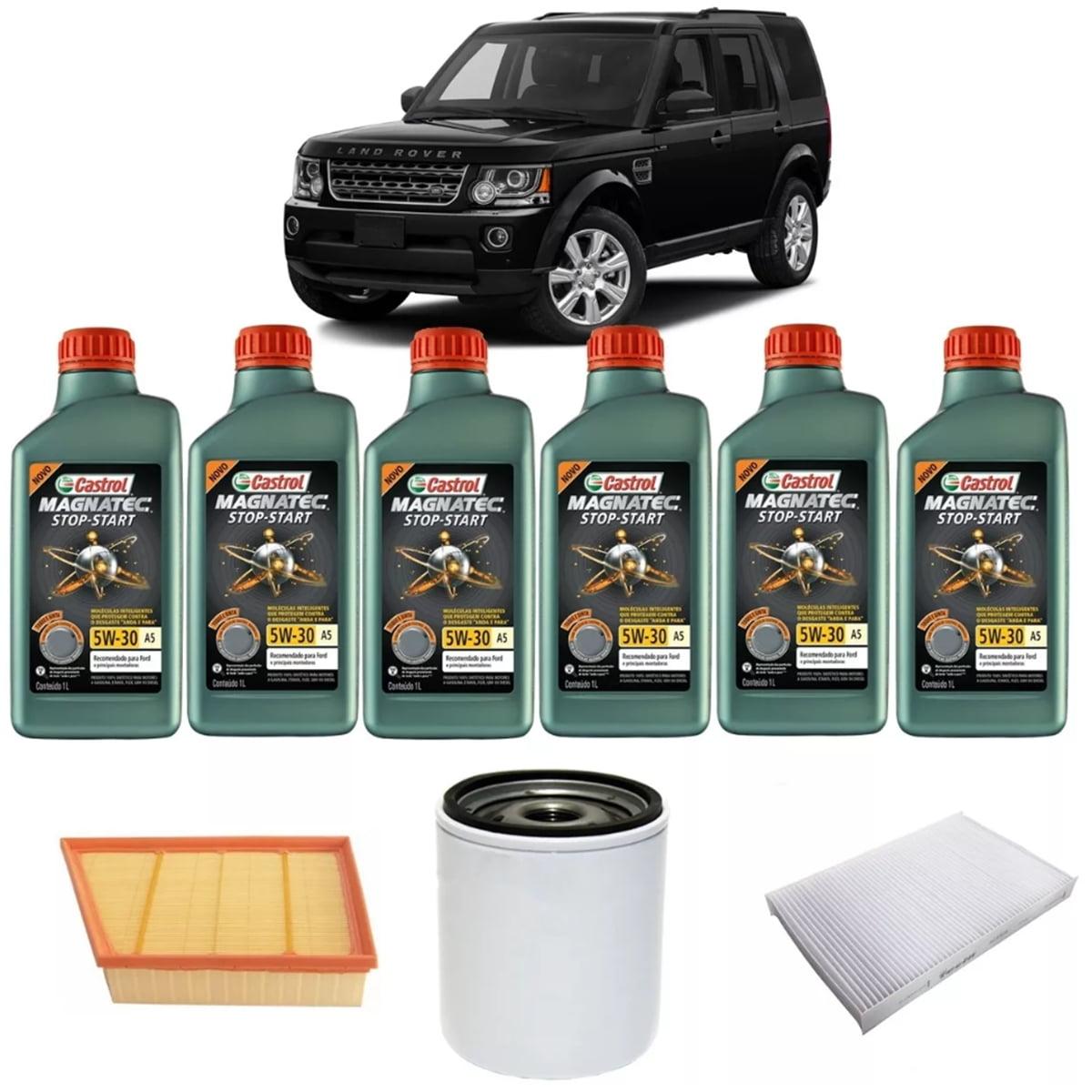 Troca de Oleo Land Rover Evoque 2.0 Castrol Magnatec 5w30 1lt em até 6x sem juros